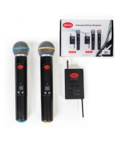 Spyn SPY-027 Professional Wireless Microphone - Dual Transmitter
