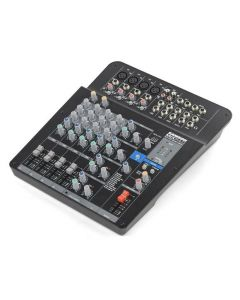 Samson MixPad® Mxp124fx Compact, 12-channel Analog Stereo Mixer With Effects And Usb