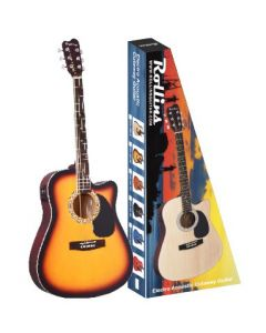 "Rollins 41"" Cutaway Electric Acoustic Guitars - Assorted Colours"