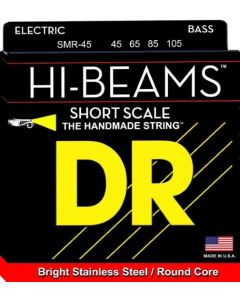 DR Strings HI BEAMS Short Scale 4 String Bass Medium (45-105) SMR-45