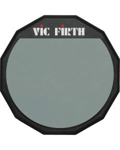 """Vic Firth Single Sided Practice Pad for Drummers - 6"""""""