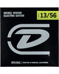 Dunlop DEN1356 Nickel Wound Electric Guitar Strings, Extra Heavy, .013-.056, 6 Strings Set