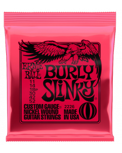 Ernie Ball 2226 Burly Slinky Nickel Wound Electric Guitar Strings - .011-.052