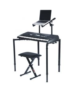 Apextone Foldable Keyboard/ Utility Stand AP-3299 w/Second tier