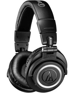Audio-Technica - ATH M50XBT Wireless Over-the-Ear Headphones