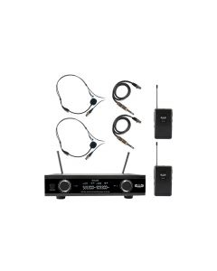 Cad Gxld2bbai Digital Wireless Dual Bodypack Headset Microphone System