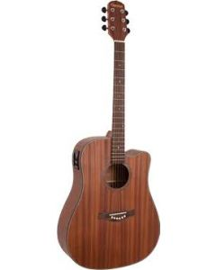 Giannini GS-41 Left Hand Acoustic Electric Guitar