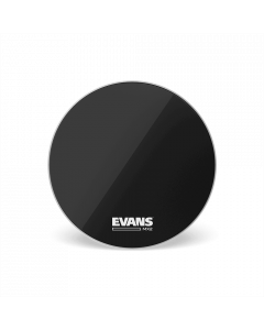 "Evans MX2 22"" Black Bass Drumhead BD22MX2B"