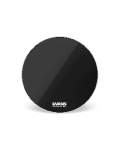 "Evans RESONANT BLACK 20"" Bass Drumhead BD20RBG"