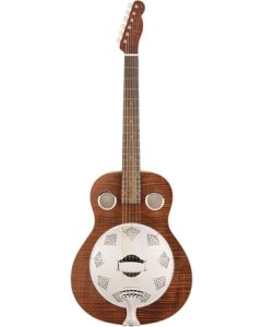 Fender Brown Derby Resonator Guitar