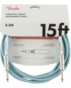 Fender 15 Feet California Instrument Cable - Surf Green