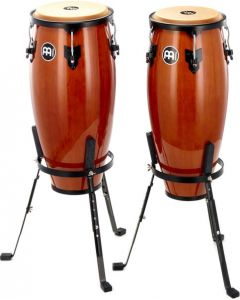 """Meinl Percussion HC555 Headliner Series 10"""" & 11"""" Conga Set With Basket Stands"""