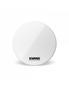 """Evans MX2 White Marching Bass Drumhead - 28"""""""