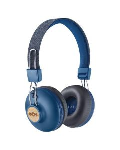 House of Marley Positive Vibration 2 Wireless Bluetooth-Denim-On-Ear Headphone