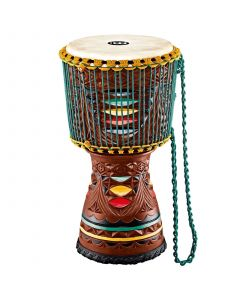 "Meinl AE-DJTC2-L Artisan Edition 12"" Colored Ornamental Carving Djembe"