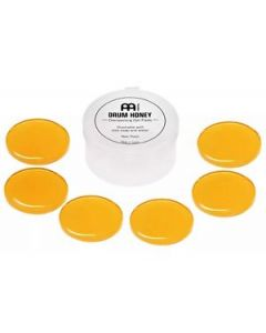 Meinl Cymbals MDH Drum Honey Dampening Gel Pads for Drums and Cymbals, 6-Piece Pack