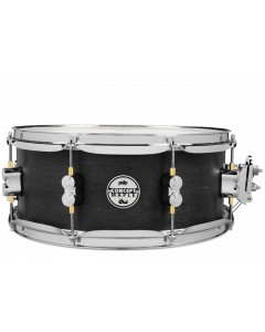 """PDP Concept Series 5.5x13"""" All-Maple Black Wax Snare with Chrome Hardware"""