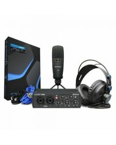 PreSonus AudioBox USB 96 Studio Bundle 25th Anniversary Black