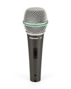 Samson Q4 Dynamic Supercardioid Handheld Microphone With On/off Switch