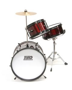 TKO 3-piece Childs Drum Set - Wine Red