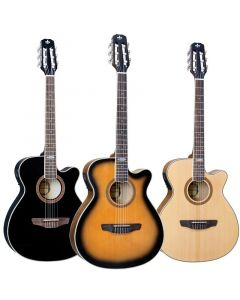 Strinberg SC20 Classical Electric Guitar w/ Built-In Preamp & Tuner