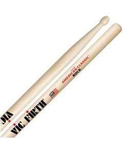 Vic Firth American Classic Drum Sticks, Rock, Wood Tip, Pair