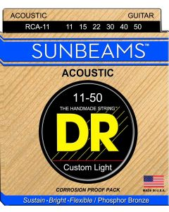 DR Strings Sunbeam - Phosphor Bronze AcousticRound Core 11-50 RCA-11